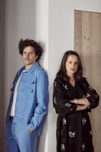 Margaux Lally et Luc Berger